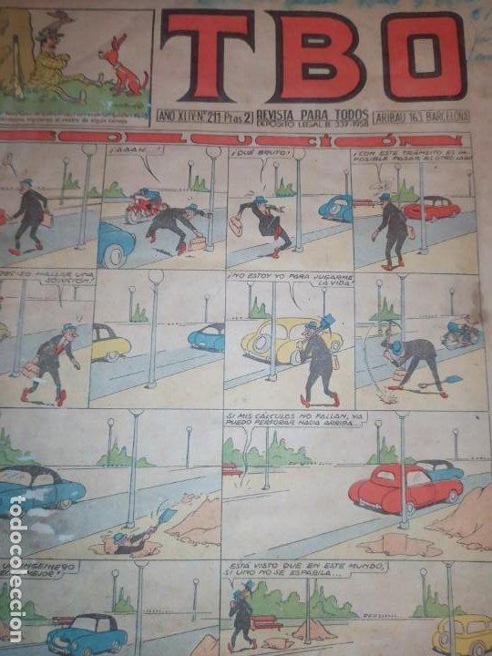 Tebeos: LOTE TBO SEGUNDA ÉPOCA N° 124 /N° 211 1958 ÚNICO? - Foto 17 - 192195180