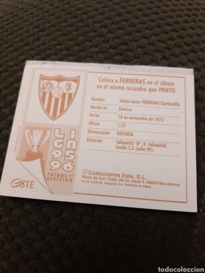 Tebeos: EDICIONES ESTE 95 96 FERRERAS SEVILLA COLOCA - Foto 2 - 192914743