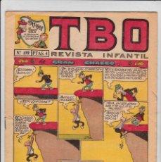 Tebeos: TBO SEGUNDA EPOCA Nº 103 PRECIO 1,40. Lote 193776955