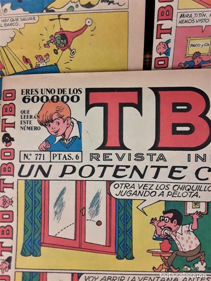 Tebeos: REVISTA INFANTIL TBO. 24 EJEMPLARES. EDIT. BUIGAS, ESTIVILL Y VIÑA. BARCELONA. - Foto 5 - 167097492