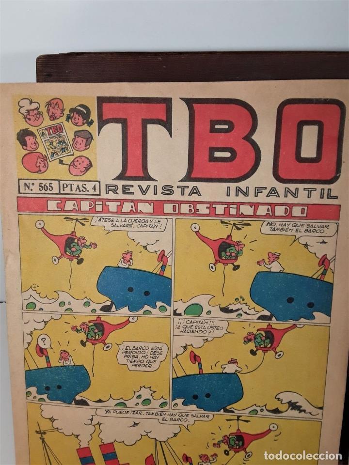 Tebeos: REVISTA INFANTIL TBO. 24 EJEMPLARES. EDIT. BUIGAS, ESTIVILL Y VIÑA. BARCELONA. - Foto 12 - 167097492