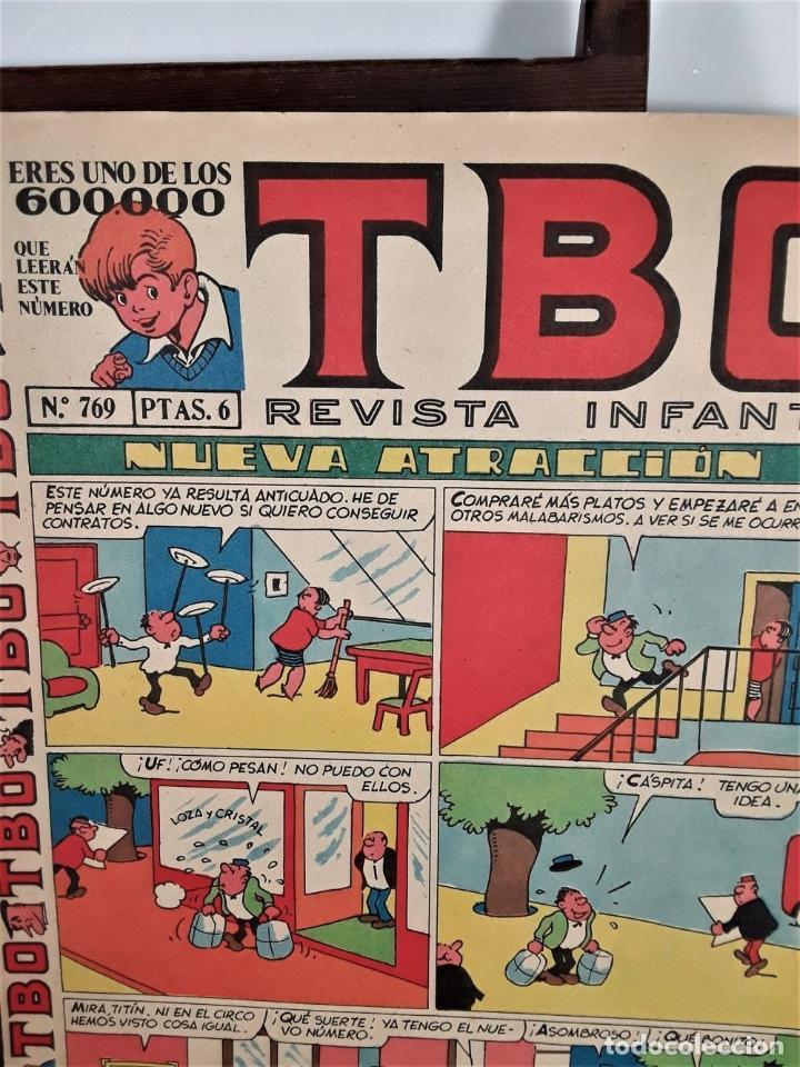 Tebeos: REVISTA INFANTIL TBO. 24 EJEMPLARES. EDIT. BUIGAS, ESTIVILL Y VIÑA. BARCELONA. - Foto 13 - 167097492