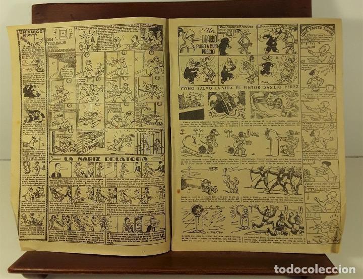 Tebeos: TBO. 38 EJEMPLARES. EDIT. HNOS. BAGUÑA. BARCELONA. 1928. - Foto 3 - 159035990