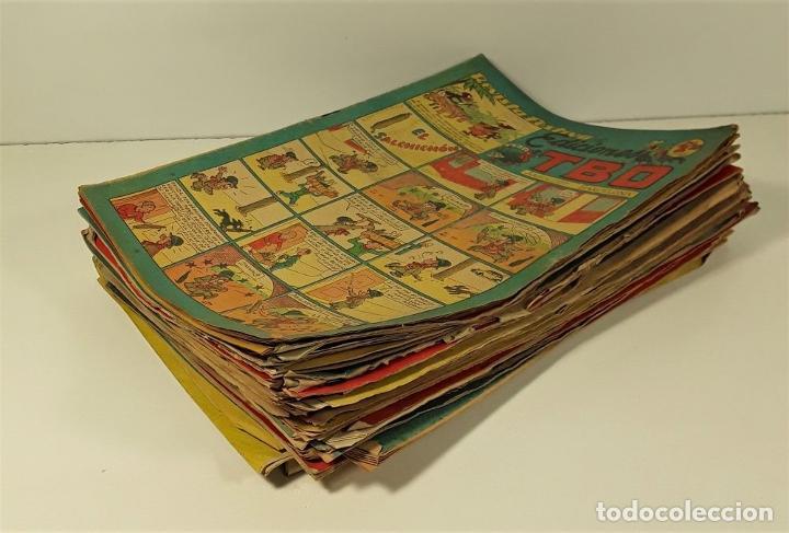 Tebeos: TBO. 38 EJEMPLARES. EDIT. HNOS. BAGUÑA. BARCELONA. 1928. - Foto 6 - 159035990