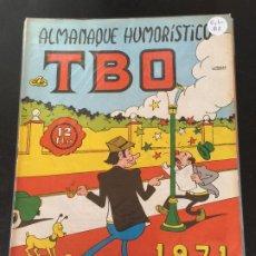 BDs: BUIGAS TBO ALMANAQUE HUMORISTICO 1971 NORMAL ESTADO OFERTA 9. Lote 195172315