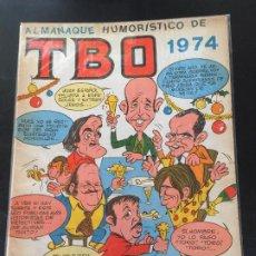 BDs: BUIGAS TBO ALMANAQUE HUMORISTICO 1974 NORMAL ESTADO OFERTA 9. Lote 195173701