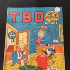 Tebeos: BUIGAS TBO ALBUM 5 DE LA FAMILIA ULISES NORMAL ESTADO OFERTA 9. Lote 195174102
