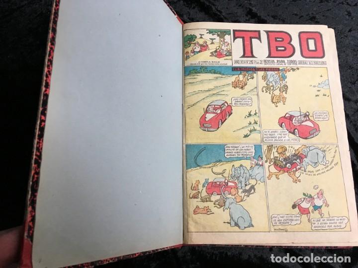Tebeos: 5 TOMOS TBO - ALMANAQUES - ALMANAQUE HUMORÍSTICO - Foto 3 - 195589607