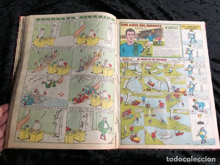 Tebeos: 5 TOMOS TBO - ALMANAQUES - ALMANAQUE HUMORÍSTICO - Foto 7 - 195589607