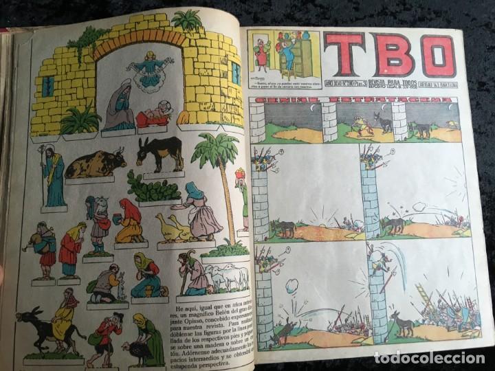 Tebeos: 5 TOMOS TBO - ALMANAQUES - ALMANAQUE HUMORÍSTICO - Foto 16 - 195589607