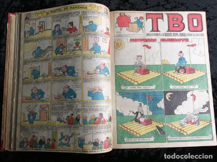 Tebeos: 5 TOMOS TBO - ALMANAQUES - ALMANAQUE HUMORÍSTICO - Foto 19 - 195589607