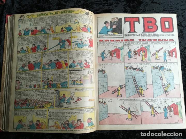 Tebeos: 5 TOMOS TBO - ALMANAQUES - ALMANAQUE HUMORÍSTICO - Foto 20 - 195589607