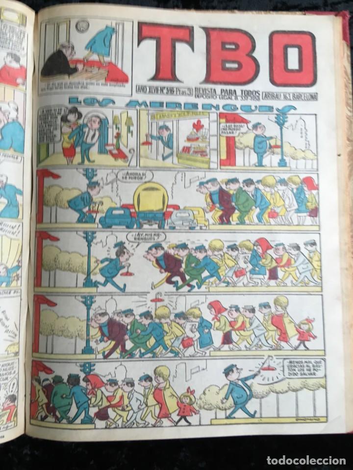 Tebeos: 5 TOMOS TBO - ALMANAQUES - ALMANAQUE HUMORÍSTICO - Foto 24 - 195589607