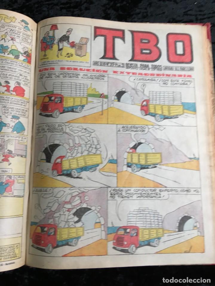Tebeos: 5 TOMOS TBO - ALMANAQUES - ALMANAQUE HUMORÍSTICO - Foto 25 - 195589607