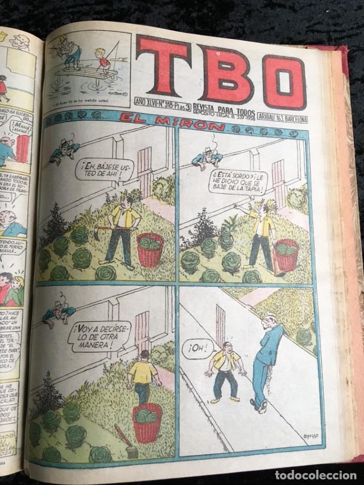 Tebeos: 5 TOMOS TBO - ALMANAQUES - ALMANAQUE HUMORÍSTICO - Foto 26 - 195589607