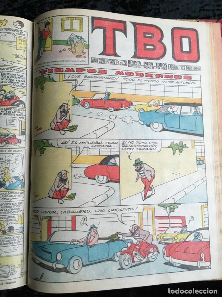 Tebeos: 5 TOMOS TBO - ALMANAQUES - ALMANAQUE HUMORÍSTICO - Foto 27 - 195589607