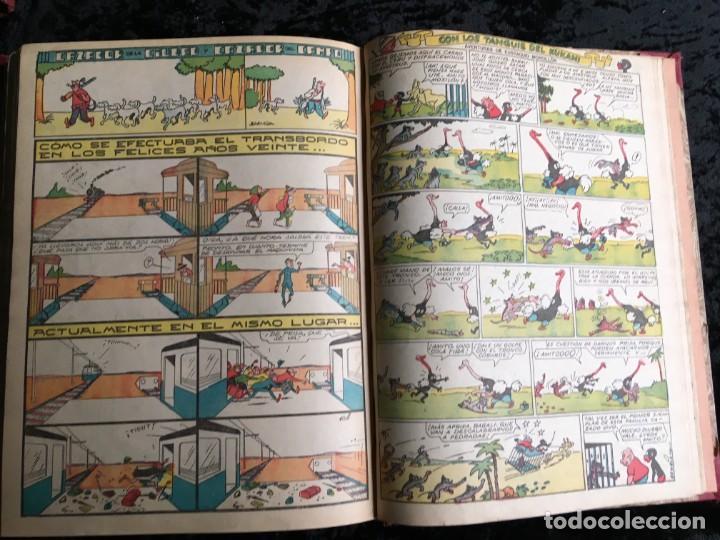 Tebeos: 5 TOMOS TBO - ALMANAQUES - ALMANAQUE HUMORÍSTICO - Foto 29 - 195589607