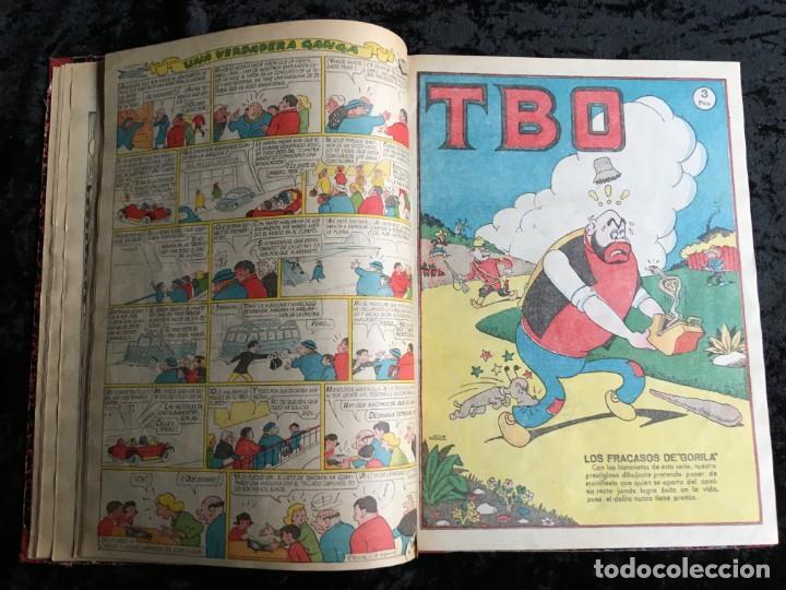Tebeos: 5 TOMOS TBO - ALMANAQUES - ALMANAQUE HUMORÍSTICO - Foto 37 - 195589607