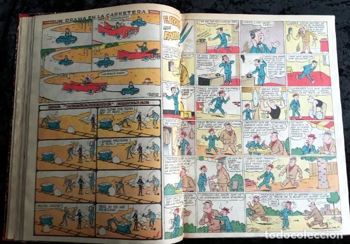 Tebeos: 5 TOMOS TBO - ALMANAQUES - ALMANAQUE HUMORÍSTICO - Foto 38 - 195589607