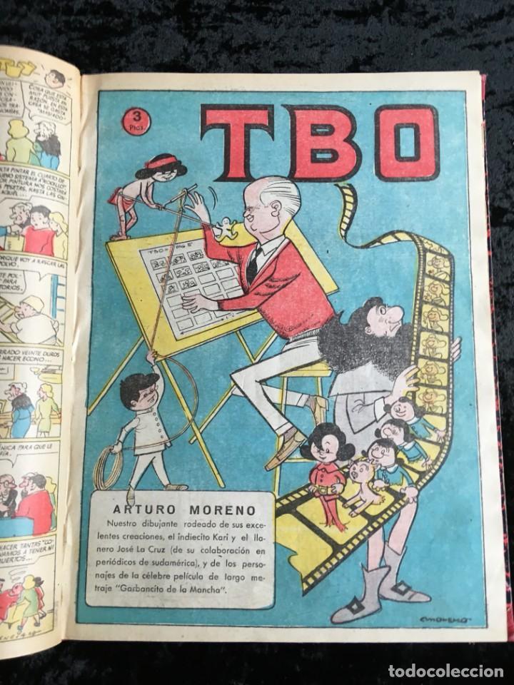 Tebeos: 5 TOMOS TBO - ALMANAQUES - ALMANAQUE HUMORÍSTICO - Foto 39 - 195589607