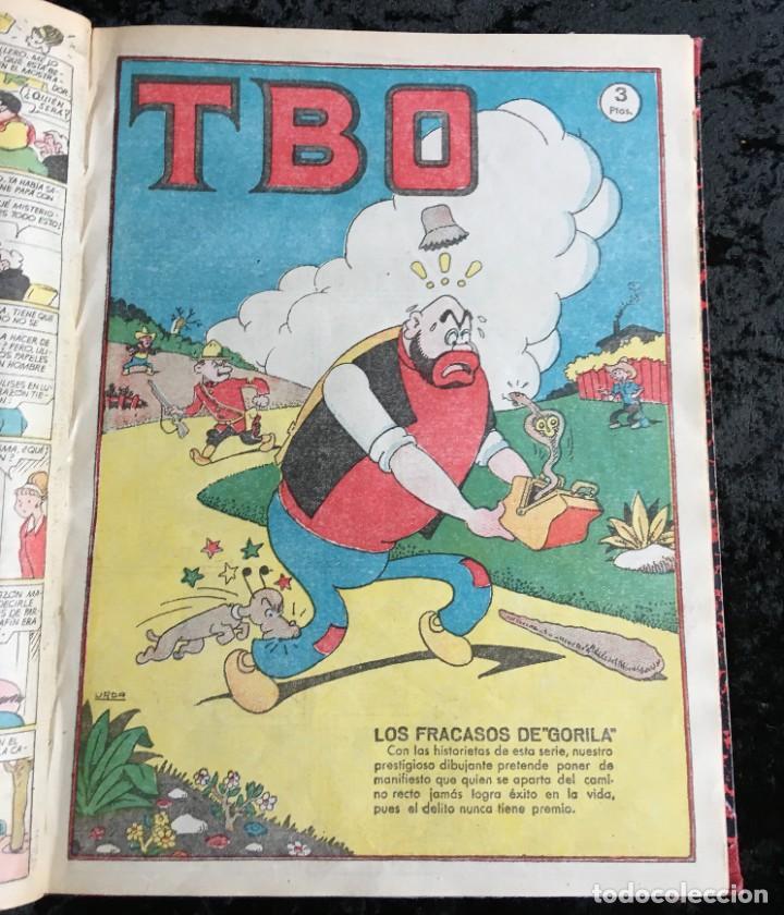 Tebeos: 5 TOMOS TBO - ALMANAQUES - ALMANAQUE HUMORÍSTICO - Foto 40 - 195589607