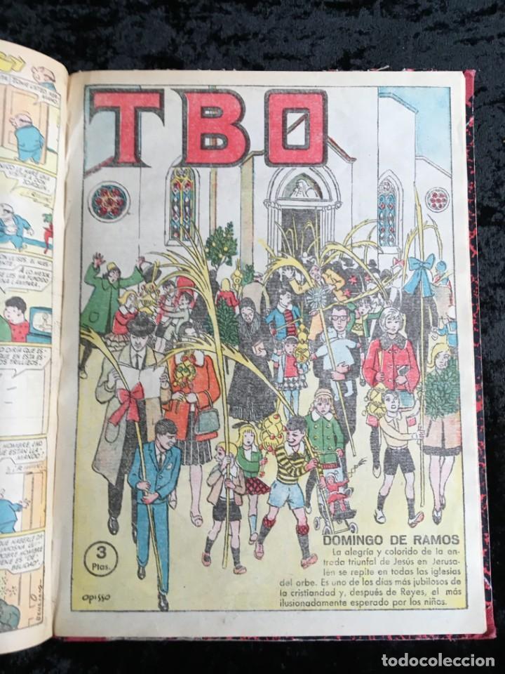 Tebeos: 5 TOMOS TBO - ALMANAQUES - ALMANAQUE HUMORÍSTICO - Foto 43 - 195589607