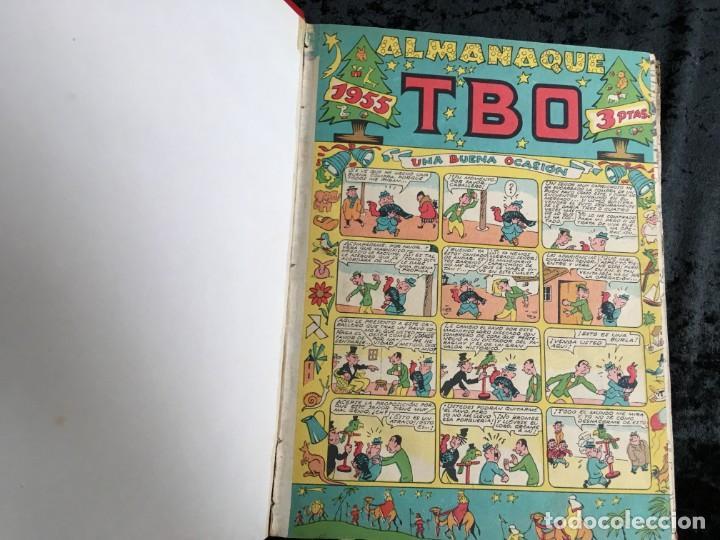 Tebeos: 5 TOMOS TBO - ALMANAQUES - ALMANAQUE HUMORÍSTICO - Foto 50 - 195589607