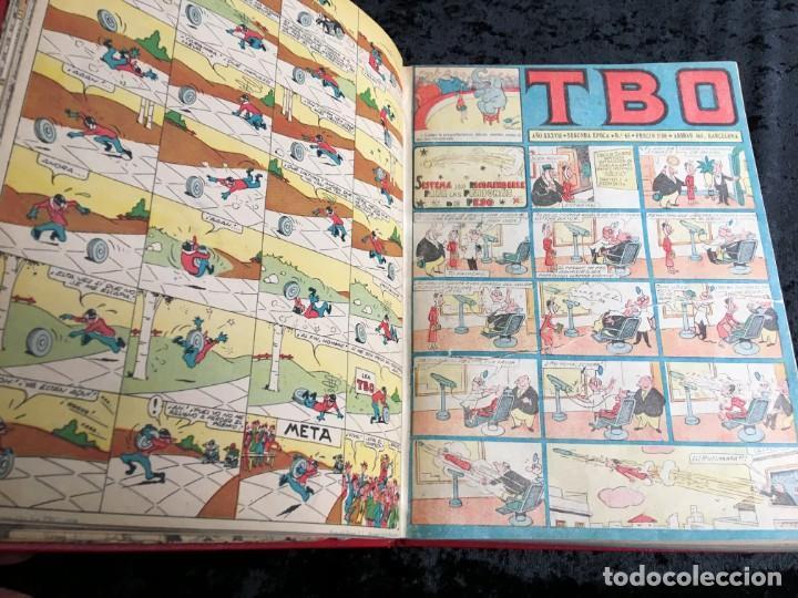 Tebeos: 5 TOMOS TBO - ALMANAQUES - ALMANAQUE HUMORÍSTICO - Foto 52 - 195589607