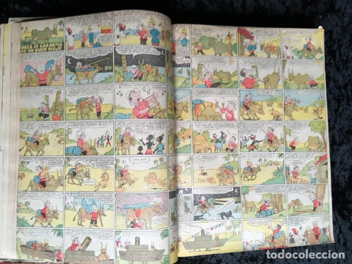 Tebeos: 5 TOMOS TBO - ALMANAQUES - ALMANAQUE HUMORÍSTICO - Foto 55 - 195589607