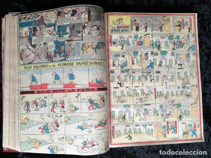 Tebeos: 5 TOMOS TBO - ALMANAQUES - ALMANAQUE HUMORÍSTICO - Foto 56 - 195589607