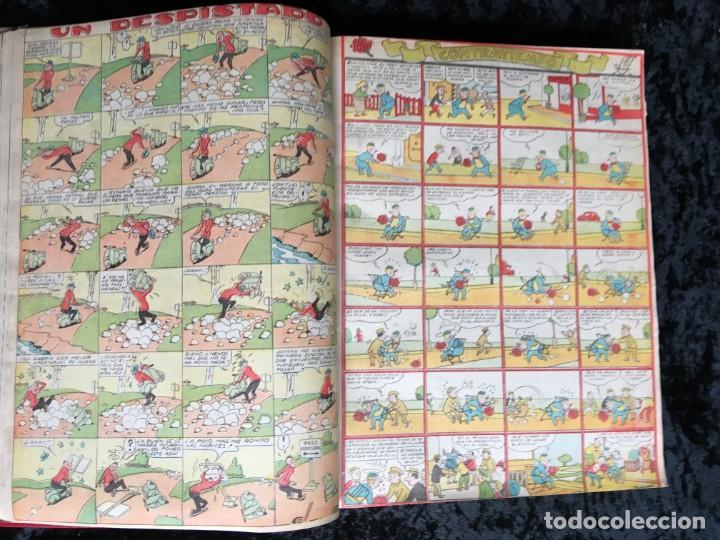 Tebeos: 5 TOMOS TBO - ALMANAQUES - ALMANAQUE HUMORÍSTICO - Foto 57 - 195589607