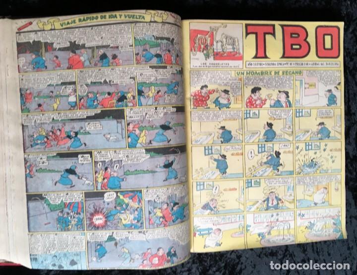 Tebeos: 5 TOMOS TBO - ALMANAQUES - ALMANAQUE HUMORÍSTICO - Foto 59 - 195589607