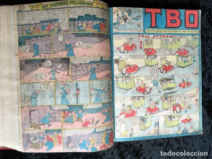 Tebeos: 5 TOMOS TBO - ALMANAQUES - ALMANAQUE HUMORÍSTICO - Foto 60 - 195589607