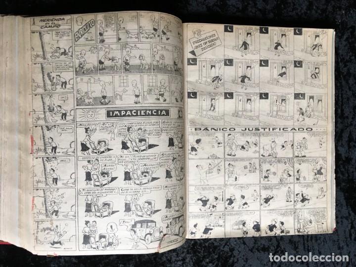Tebeos: 5 TOMOS TBO - ALMANAQUES - ALMANAQUE HUMORÍSTICO - Foto 61 - 195589607