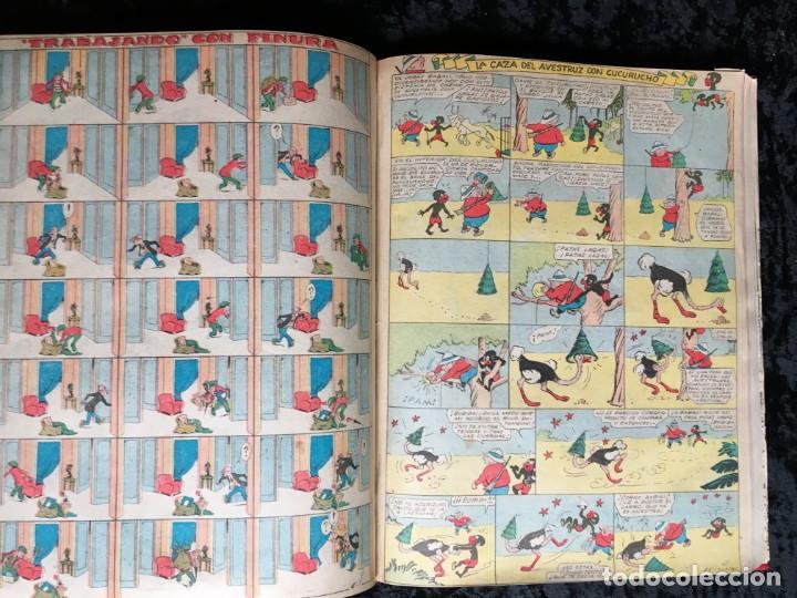 Tebeos: 5 TOMOS TBO - ALMANAQUES - ALMANAQUE HUMORÍSTICO - Foto 63 - 195589607