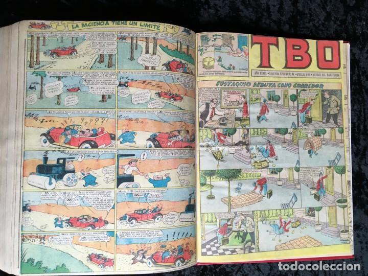 Tebeos: 5 TOMOS TBO - ALMANAQUES - ALMANAQUE HUMORÍSTICO - Foto 65 - 195589607