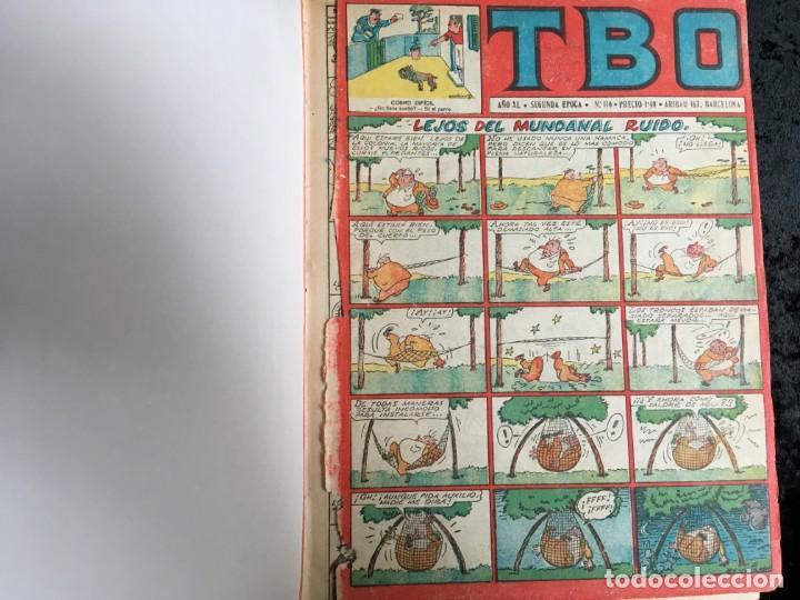 Tebeos: 5 TOMOS TBO - ALMANAQUES - ALMANAQUE HUMORÍSTICO - Foto 69 - 195589607