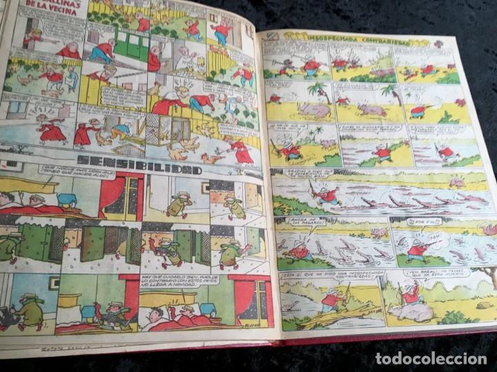 Tebeos: 5 TOMOS TBO - ALMANAQUES - ALMANAQUE HUMORÍSTICO - Foto 70 - 195589607
