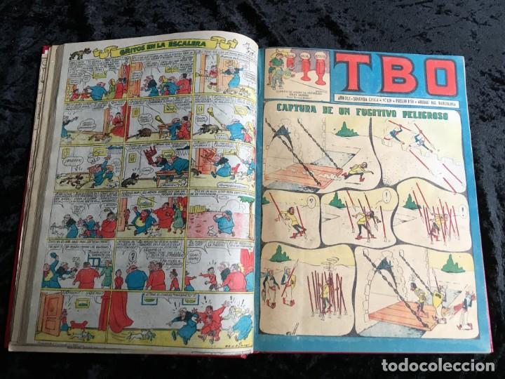 Tebeos: 5 TOMOS TBO - ALMANAQUES - ALMANAQUE HUMORÍSTICO - Foto 71 - 195589607