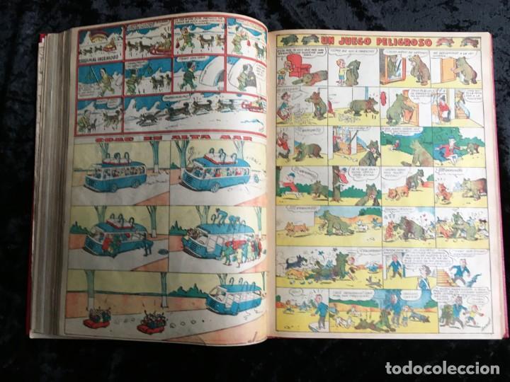 Tebeos: 5 TOMOS TBO - ALMANAQUES - ALMANAQUE HUMORÍSTICO - Foto 73 - 195589607