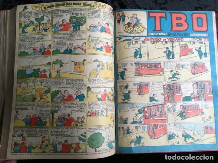 Tebeos: 5 TOMOS TBO - ALMANAQUES - ALMANAQUE HUMORÍSTICO - Foto 74 - 195589607