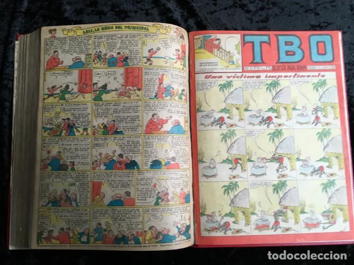 Tebeos: 5 TOMOS TBO - ALMANAQUES - ALMANAQUE HUMORÍSTICO - Foto 76 - 195589607