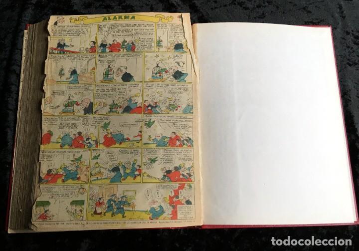 Tebeos: 5 TOMOS TBO - ALMANAQUES - ALMANAQUE HUMORÍSTICO - Foto 77 - 195589607
