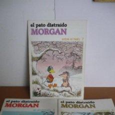 Tebeos: EL PATO DISTRAIDO MORGAN Nº 5+7+9. Lote 195620172