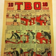 Tebeos: TBO - 10 CTS. - AÑO VII (1923) - Nº. 335. Lote 195710463