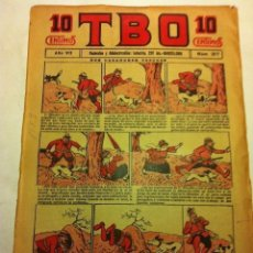 Tebeos: TBO - 10 CTS. - AÑO VII (1923) - Nº. 317. Lote 195710841