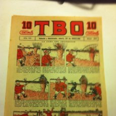 Tebeos: TBO - 10 CTS. - AÑO VII (1923) - Nº. 341. Lote 195711017
