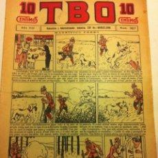 Tebeos: TBO - Nº. 387- AÑO VIII- AÑO 1924- PRECIO 10 CÉNTIMOS - (PORTADA OPISSO)- MUY BIEN CONSERVADO. Lote 195711712