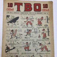 Tebeos: TBO- AÑO XVIII - 1934 - NUM.877. Lote 262809595