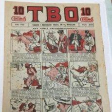 Tebeos: TBO- AÑO VIII - 1924- NUM.349. Lote 195748458